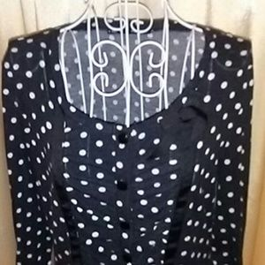 🔶3 for $13 MAURICES Polka Dot Sweater Size XL